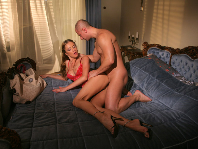 Newly married couple anal